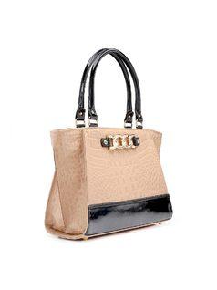 Structured Handbag back