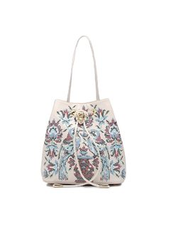 Handbag with Embroidery front