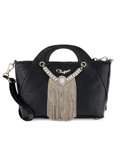 Handbag with Necklace front