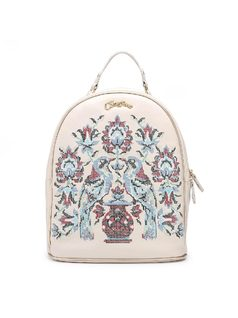 Backpack with Embroidery front