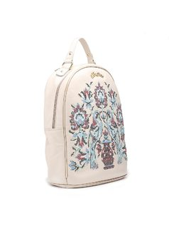 Backpack with Embroidery back
