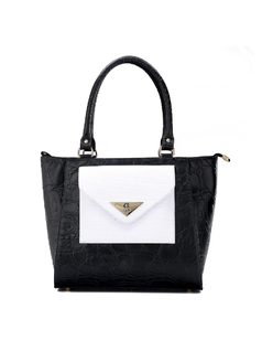 Handbag with Outer Pocket front
