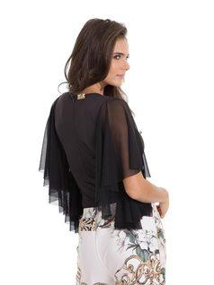 Bat Sleeve Bodysuit