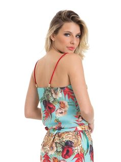 Lacey Tank Top with Bow back