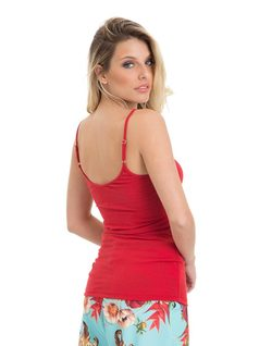 Red Tank Top back