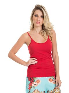 Red Tank Top front