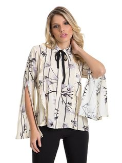 Shirt with Frills and Darts front