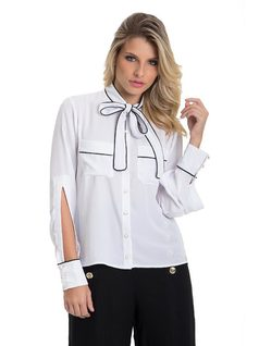 B&W Shirt front
