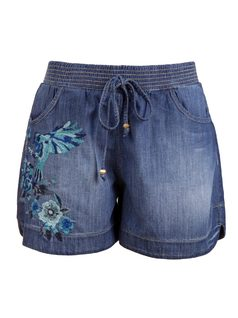 Embroidered Boxer Shorts