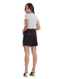 Shorts with Buttons back