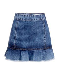 Mini-Skirt with Frills