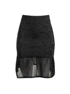 Short Skirt with Ruffles