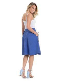 Midi Circle Skirt back