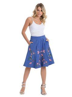 Midi Circle Skirt front