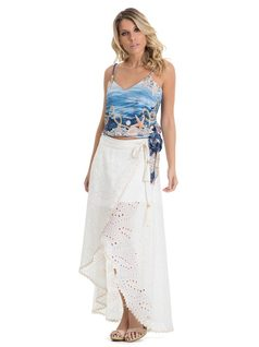 Lesie Long Skirt front