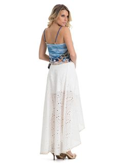 Lesie Long Skirt back