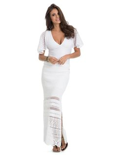 Long Skirt with Slits front