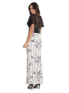 Long Skirt with Darts back