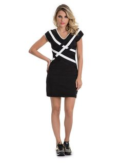 Short Dress front