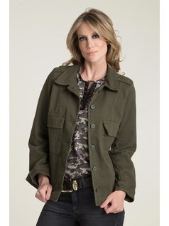 CHAQUETA IMPERMEABLE MILITAR front
