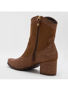 ANKLE BOOT CON CRISTALES back