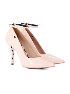 PUMP WITH ANKLE STRAP