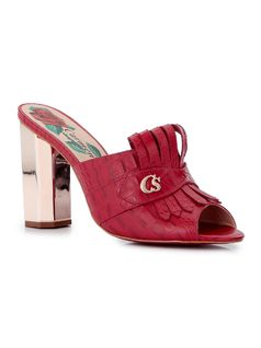 CLOG WITH FRINGES front