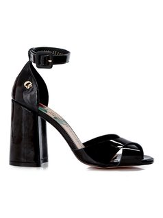 PATENT LEATHER SANDAL back