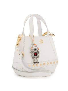 HANDBAG WITH ASTRONAUT KEYCHAIN back