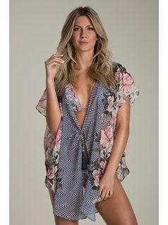 KIMONO BEACH DRESS front
