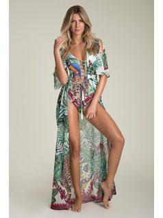 PRINTED LONG BEACH DRESS front