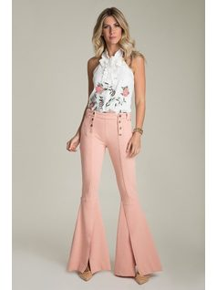 TAILORed PANTS WITH BUTTONS front