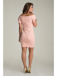 DRESS WITH BUTTONS back