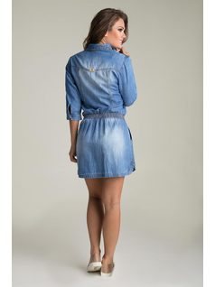 EMBROIDERed CHEMISE Jeans back