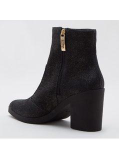 ANKLE BOOT CON ZIPPERS back