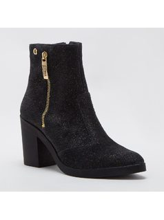ANKLE BOOT CON ZIPPERS front