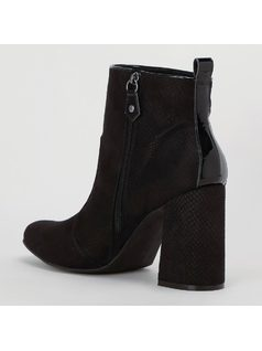 ANKLE BOOT TEXTURIZADA back