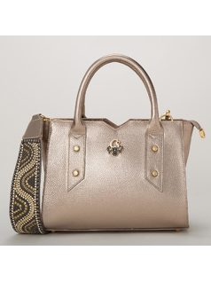 HANDBAG WITH PERSONALIZED HANDLE front