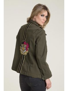 MILITARY RAINCOAT back