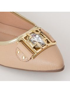 SLIP-ON WITH APPLIQUE