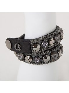 TWO TURNS METAL MESH BRACELET