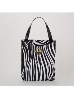ZEBRA HANDBAG back