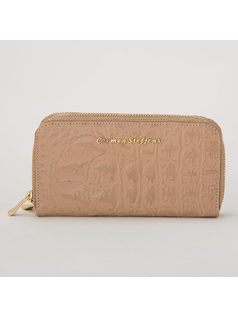 CARMEN STEFFENS ZIPPERED WALLET front