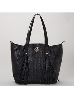 HANDBAG WITH TASSELS front