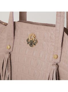 HANDBAG WITH TASSELS