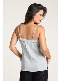 BLOUSE WITH PLEATS AND BOWS back
