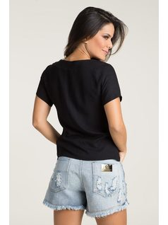 T-SHIRT WITH PATCHES back