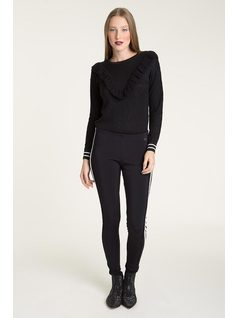 LEGGINGS WITH DETAIL front