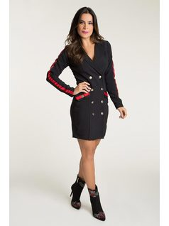 JACKET DRESS WITH DETAILS front