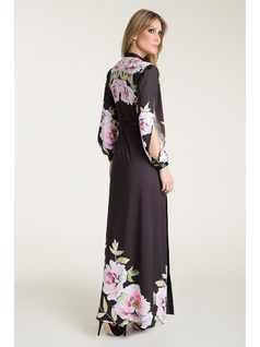 LONG DRESS WITH GROOVE front